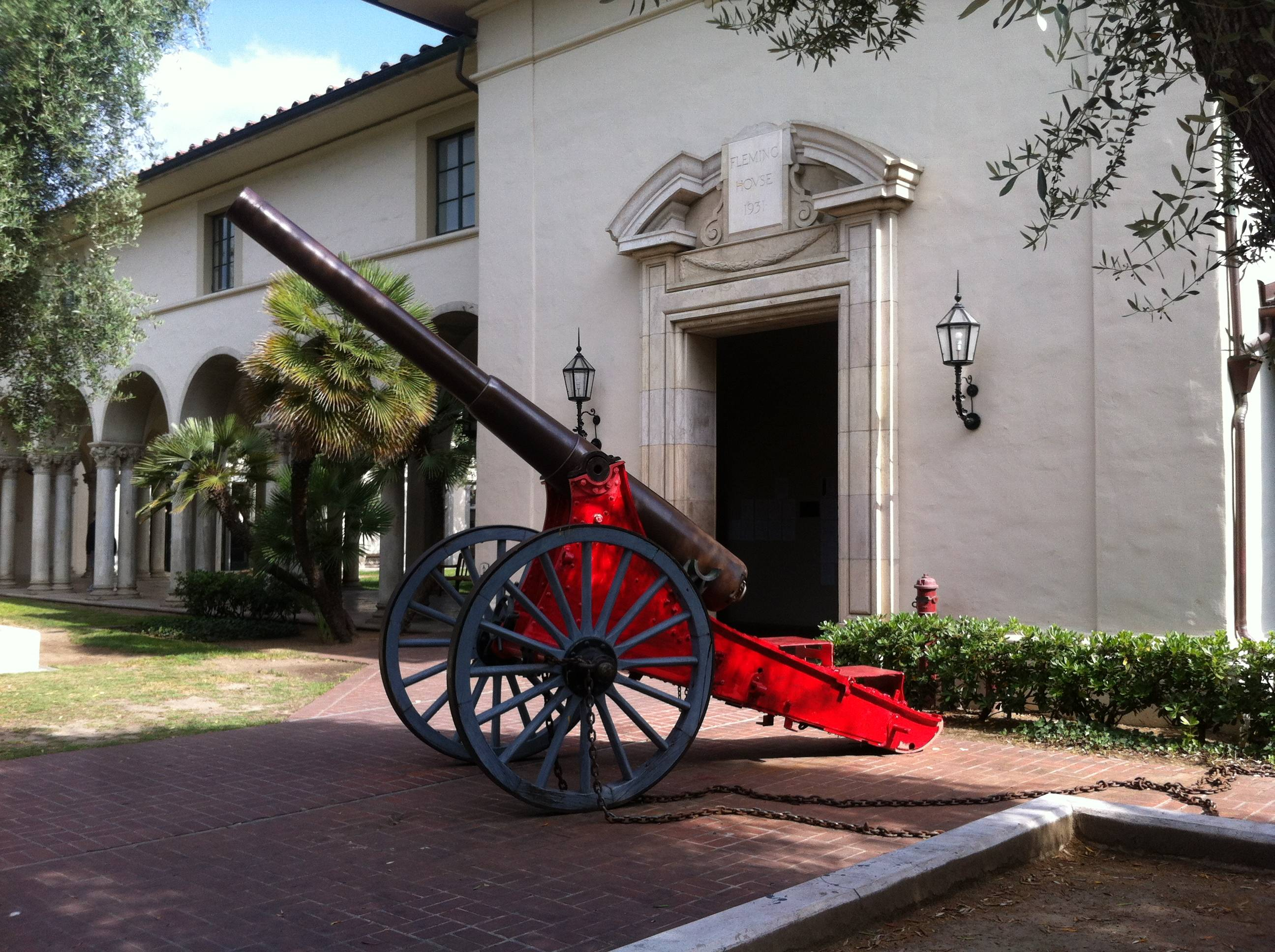 California Institute of Technology cannon